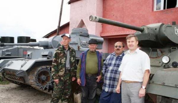 Slăbire blaturi al tancurilor albe