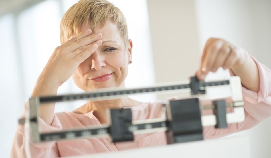 Femeia în vârstă de 44 de ani pierde în greutate