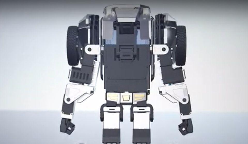 există un robot pentru opțiuni)
