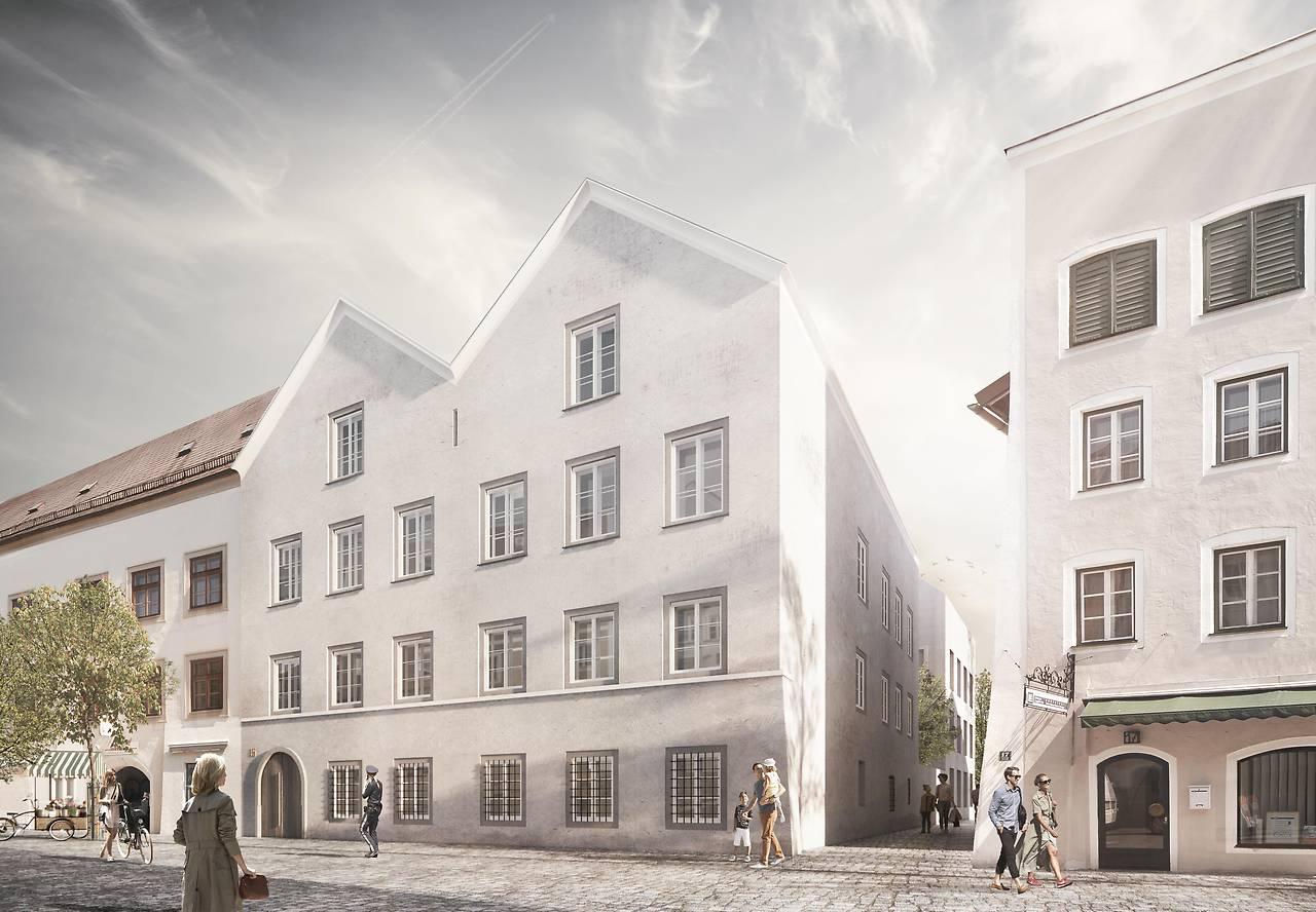 """Casa în care s-a născut Adolf Hitler va fi """"neutralizată"""""""