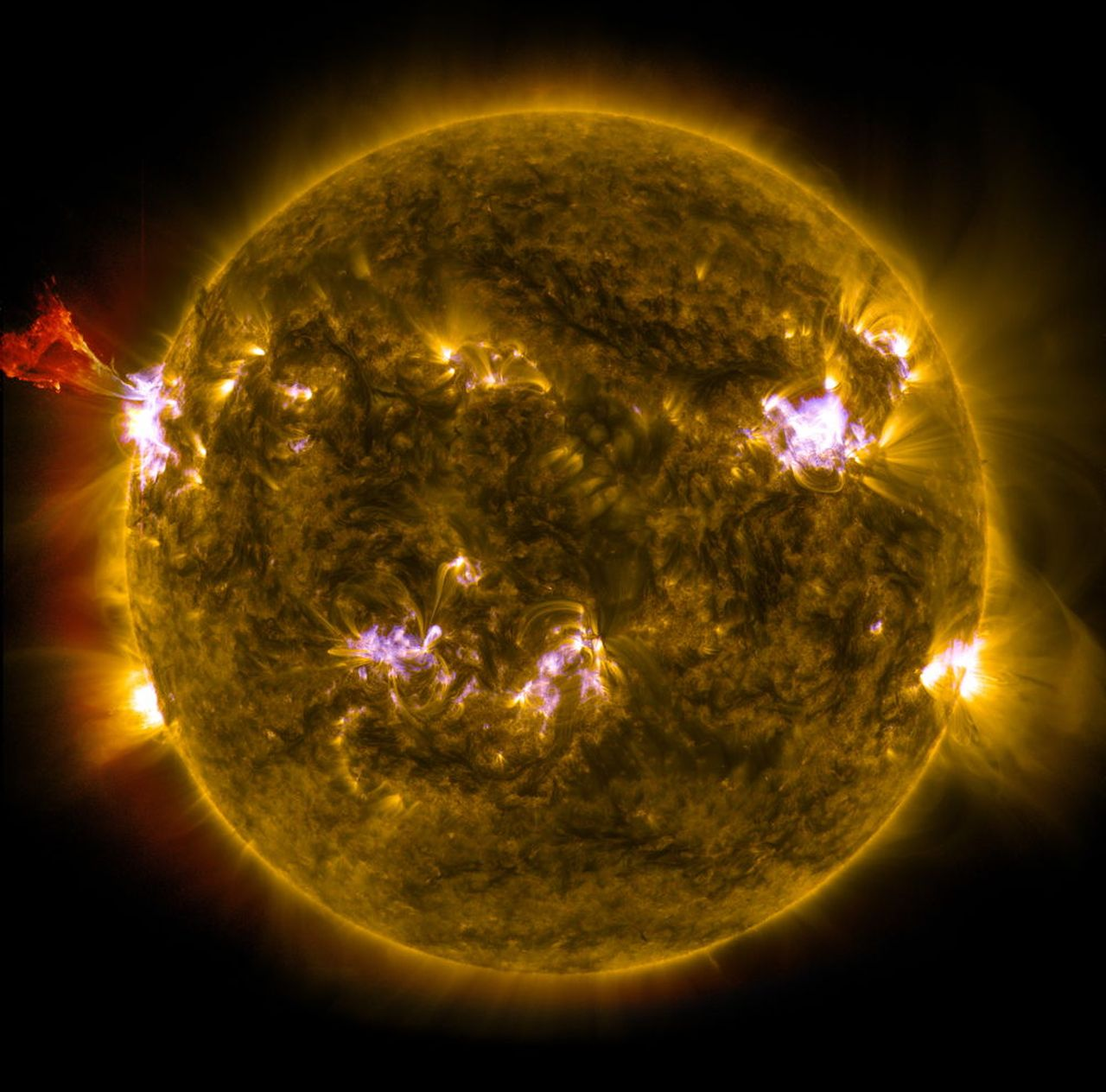 Cea mai mare erupție solară din 2017 până acum