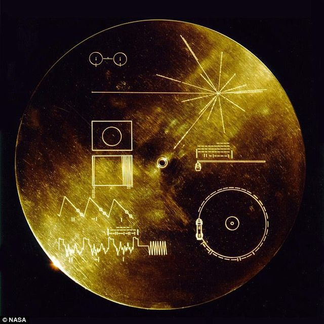 Harta de la bordul sondelor Voyager