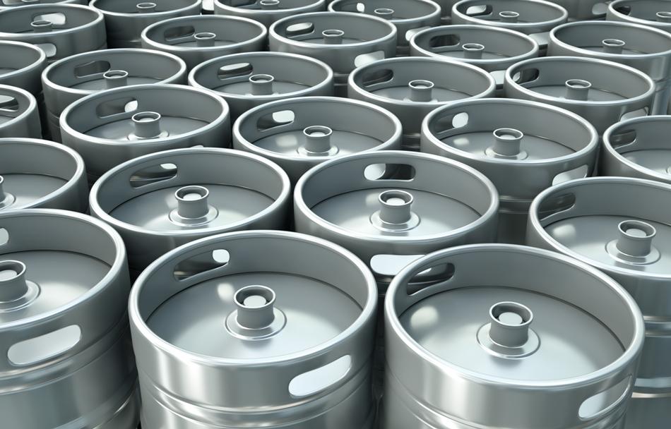 Astăzi, berea se ambalează adesea în butoiaşe metalice, din aluminiu sau inox