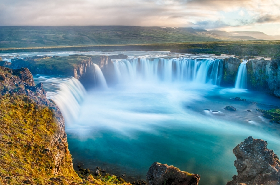 """Goðafoss (""""Cascada Zeilor"""")"""