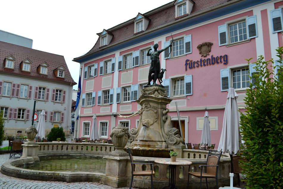 Fântâna Dianei, Donaueschingen
