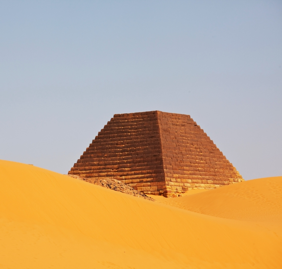 Piramidă în Sudan