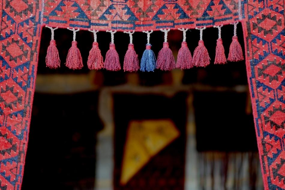 Intrare într-un bazar din Samarkand