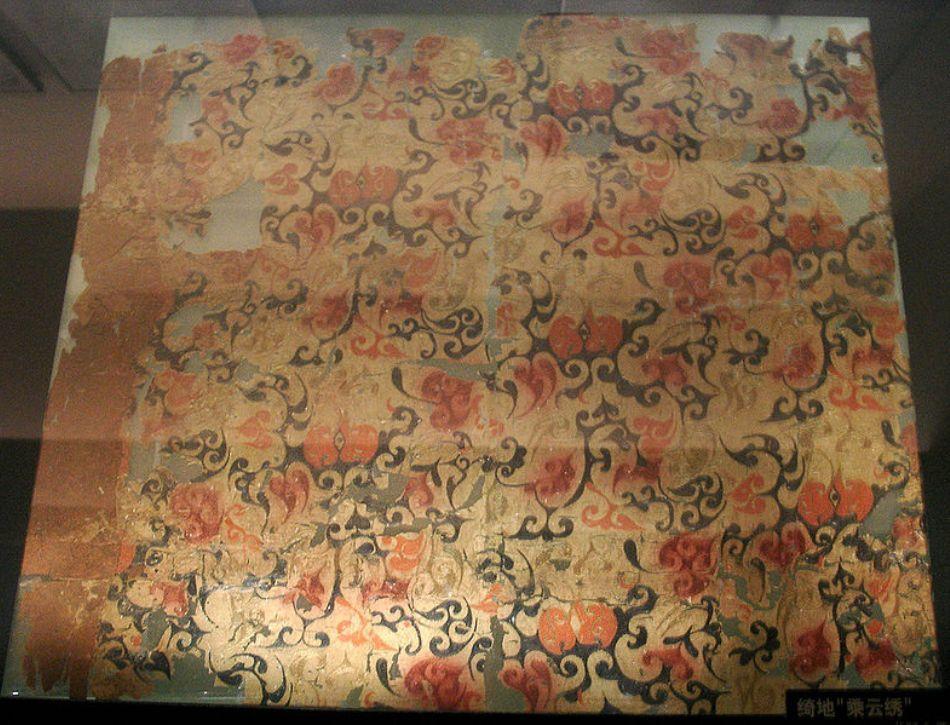 Ţesături de mătase din perioada dinastiei Tang