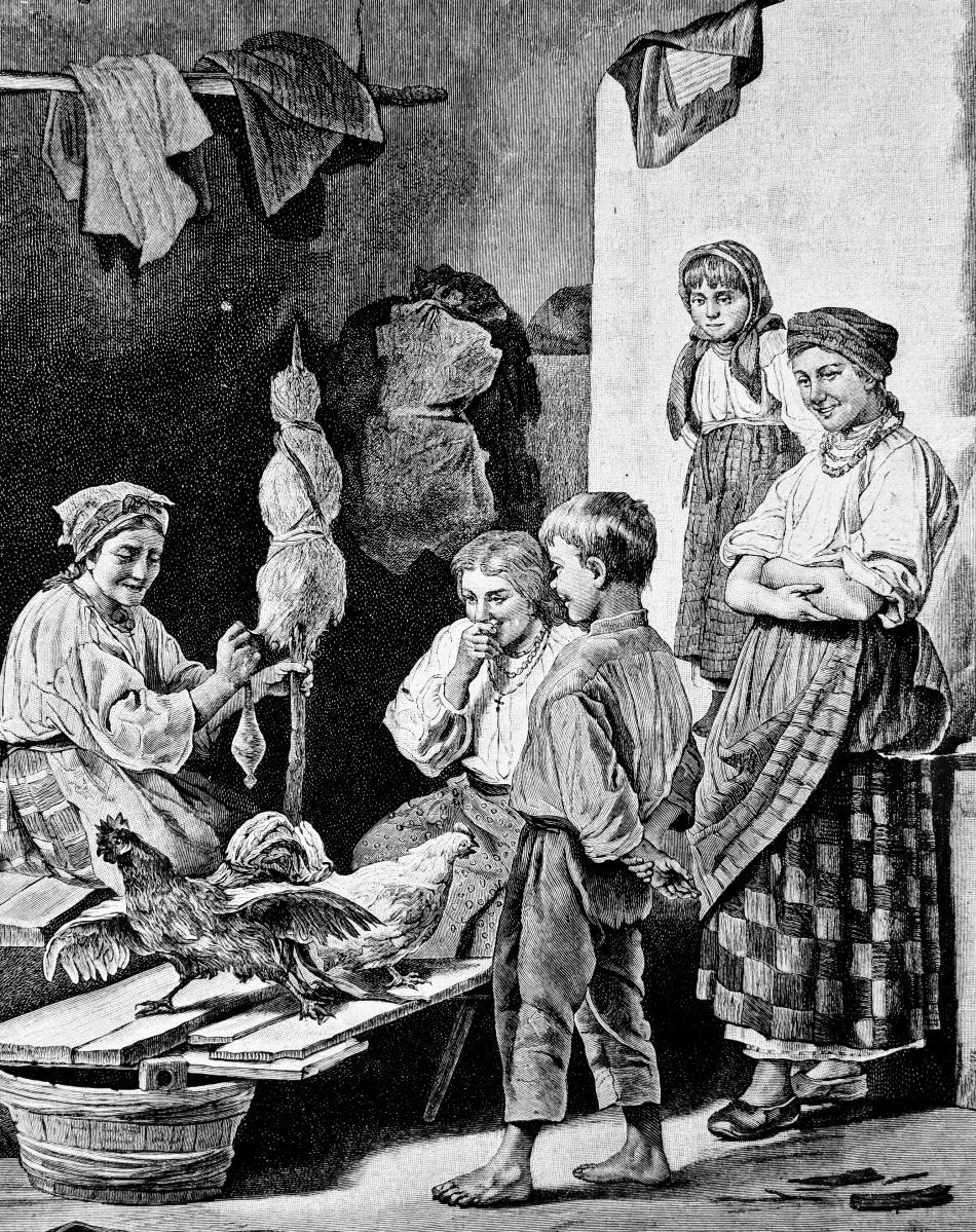 Din istoria familiei româneşti: în căutarea fericirii