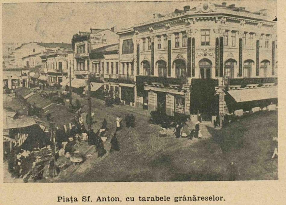 Grânărese în Piaţa Sfântul Anton