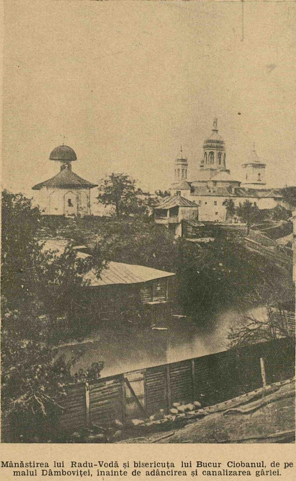 Bisericuţa lui Bucur şi Mânăstirea Radu Vodă