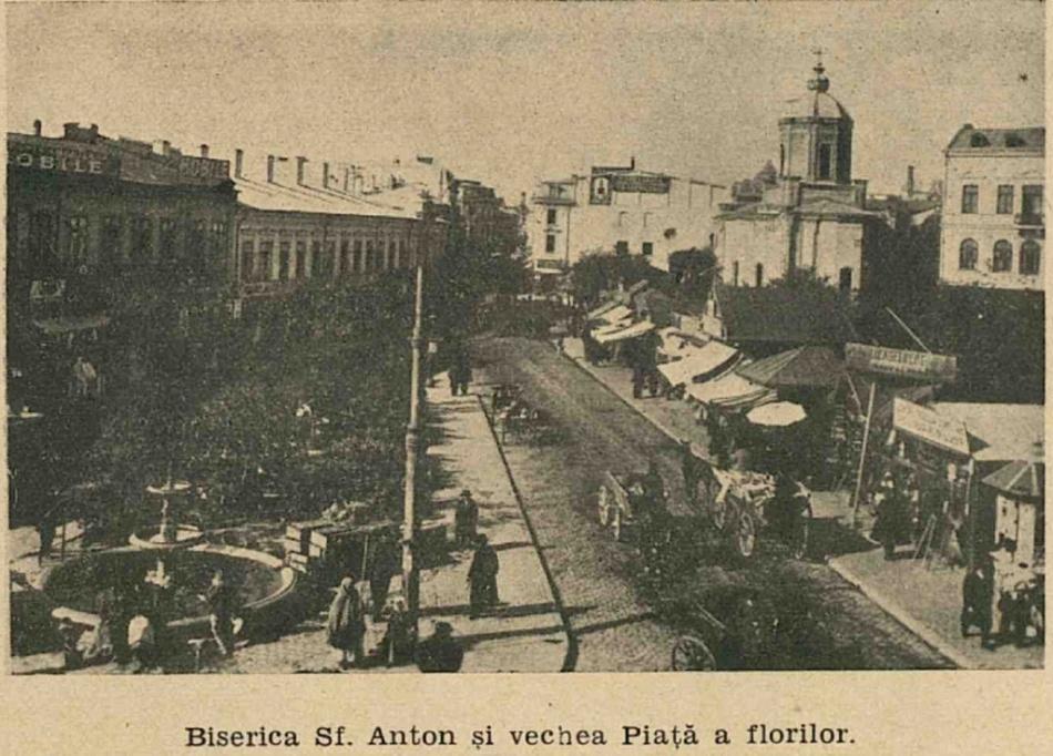 Biserica Sf. Anton şi Piaţa de flori