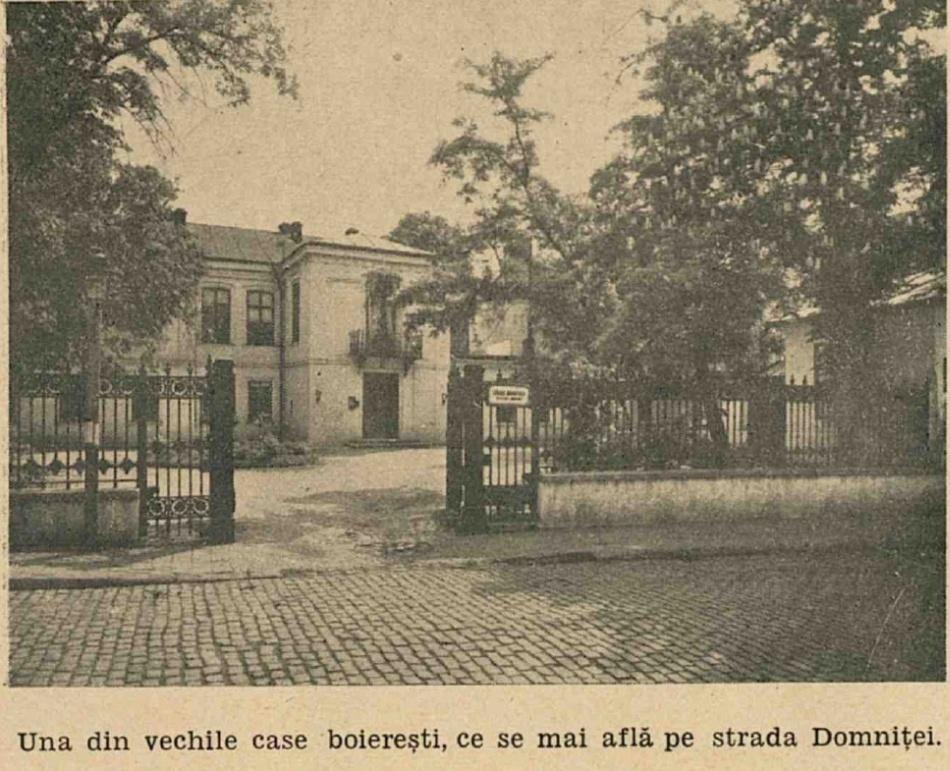 Casă boierească, str. Domniţei (undeva în apropierea bisericii Sf. Mina)