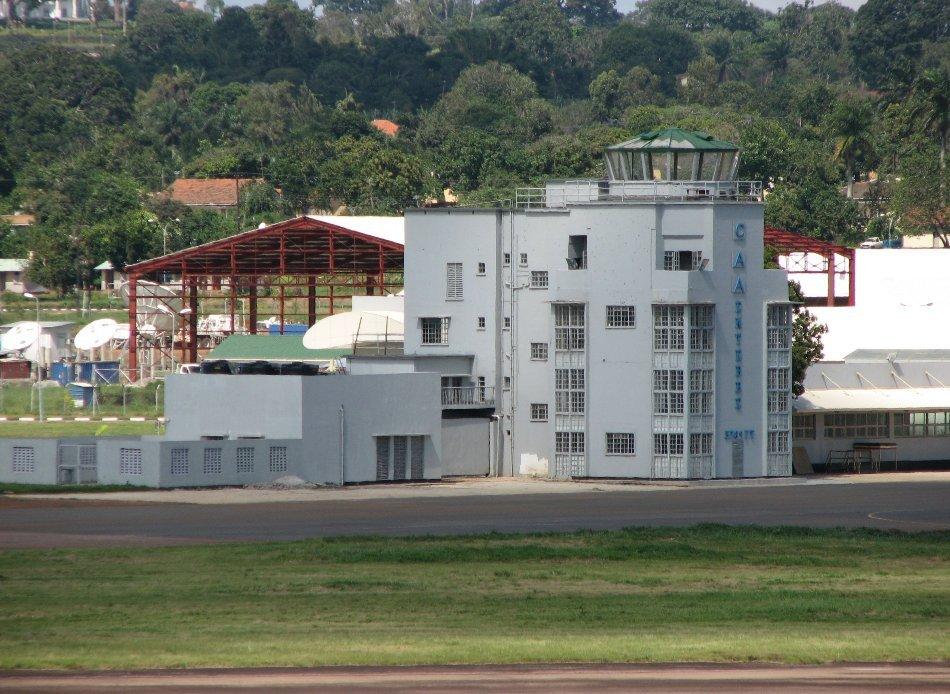 Turnul de control al aeroportului Entebbe din Uganda