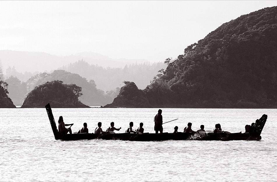 Barcă a maorilor