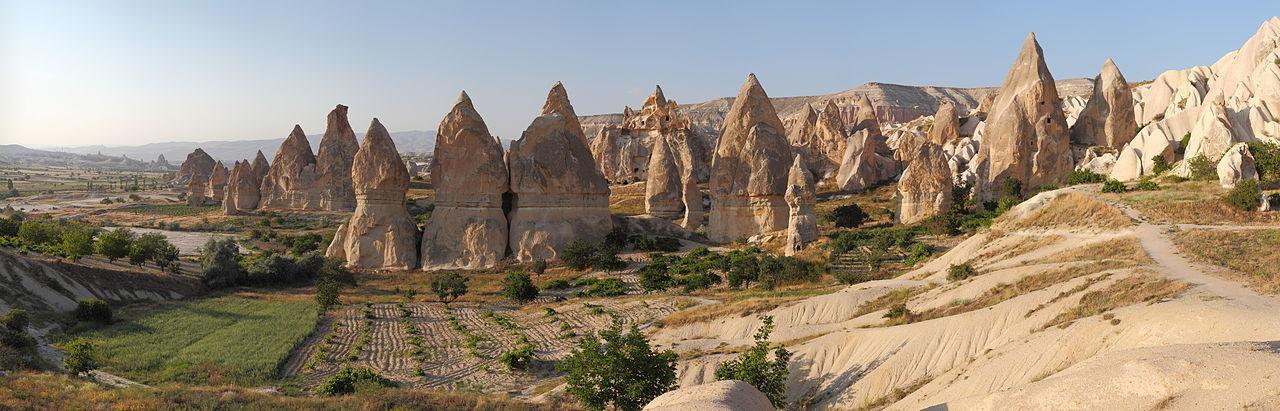 Hornurile zânelor din Cappadocia