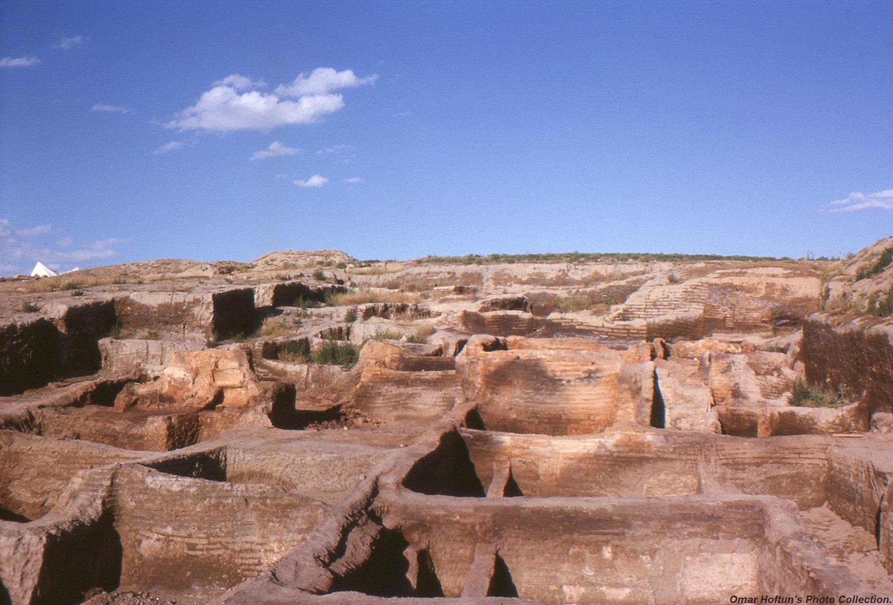 Çatalhöyük după primele excavaţii efectuate de James Mellaart şi echipa sa