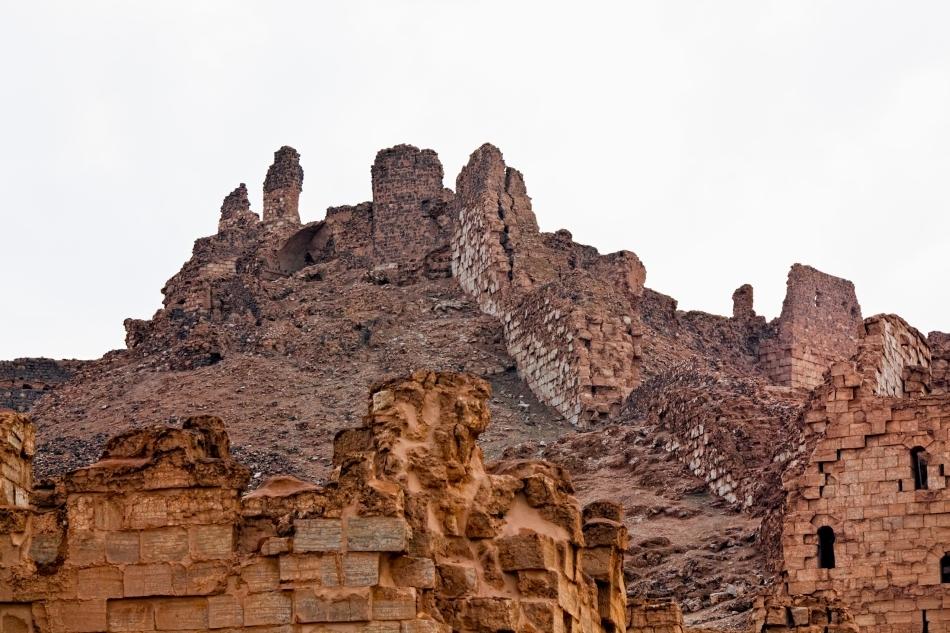Ruinele cetăţii Palmyra