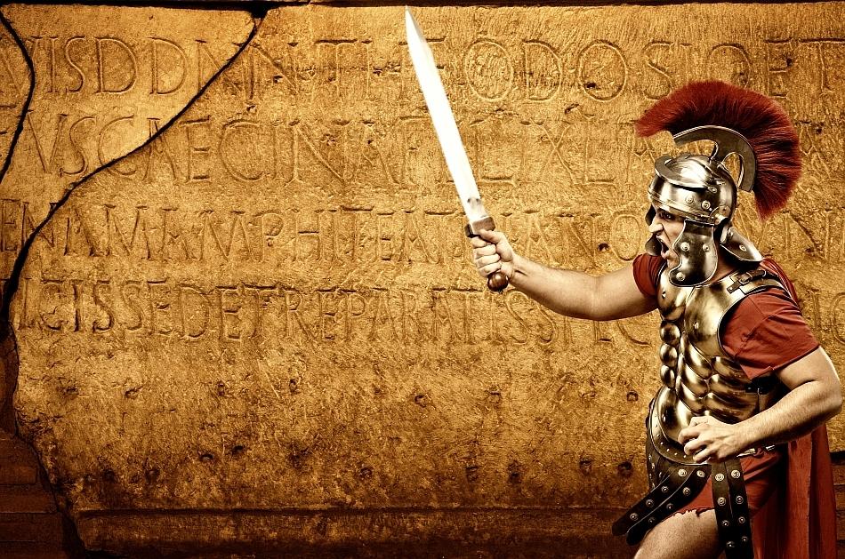 Decurion de legionari romani