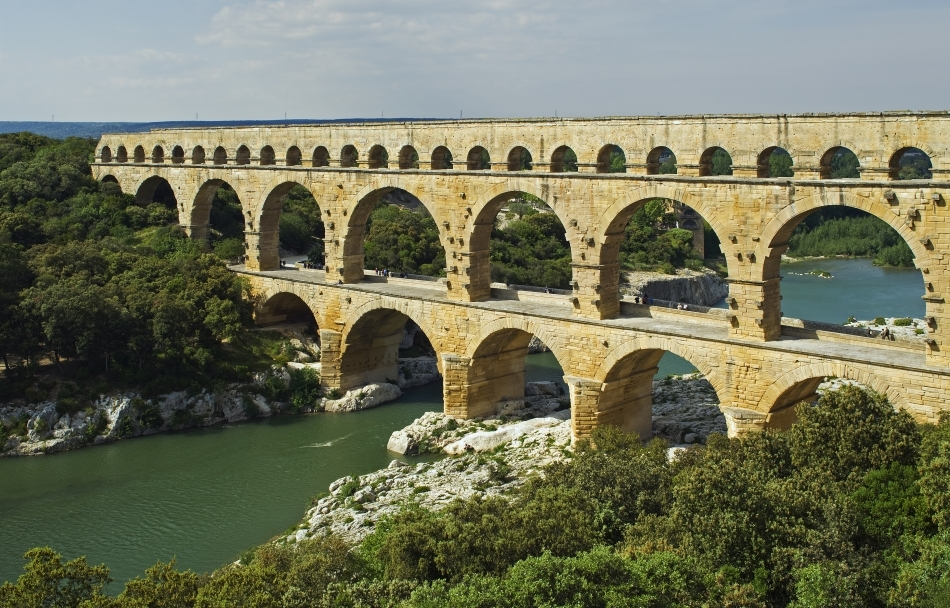 Apeductele romane se păstrează până în ziua de azi