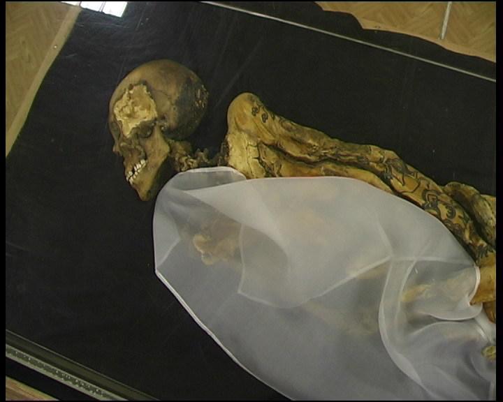 Mumie din munţii Altai, Siberia