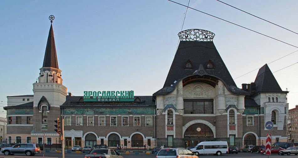 Gara din Moscova de unde pleacă Trans-siberianul