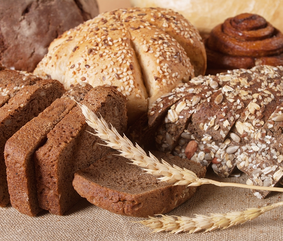 Diverse varietăţi de pâine