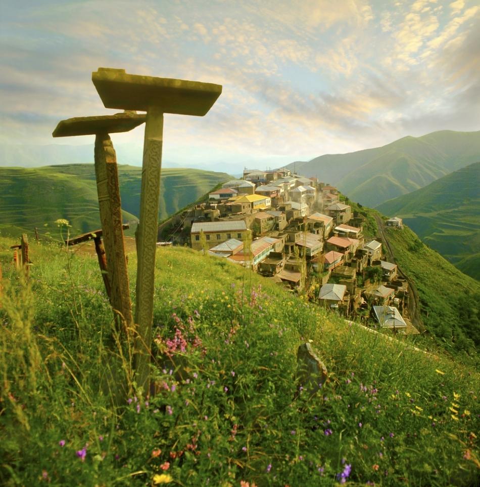 Un altar păgân din Dagestan