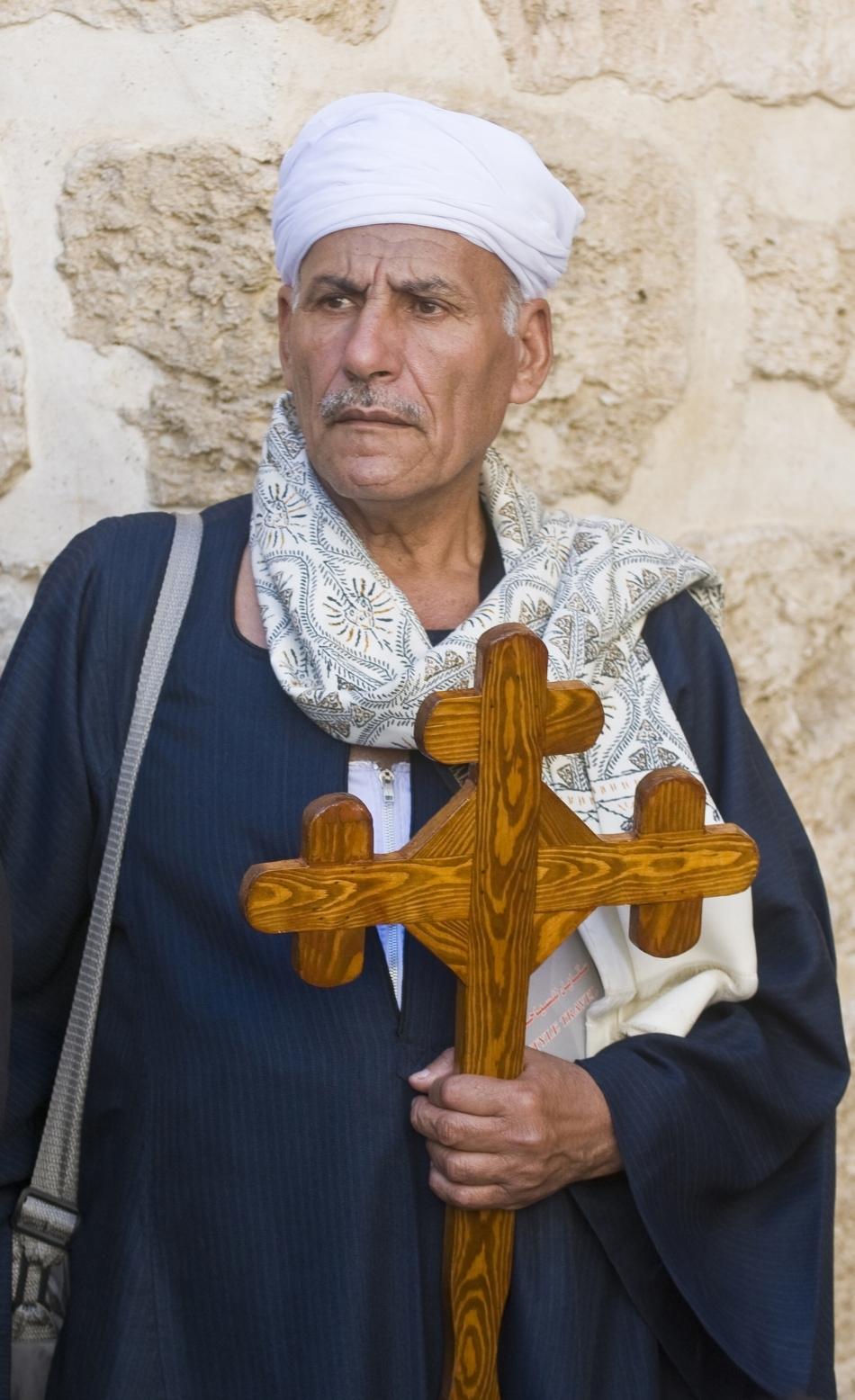 Credincios creştin copt din prezent
