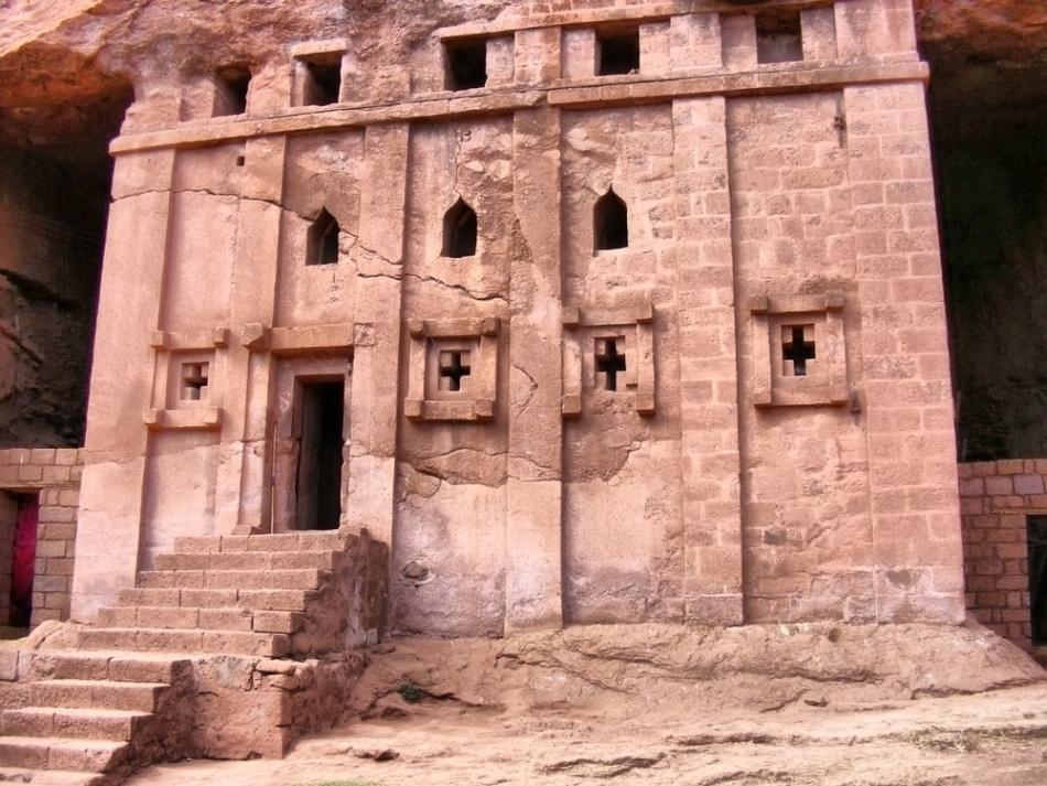 Veche mânâstire coptă din deşertul egiptean