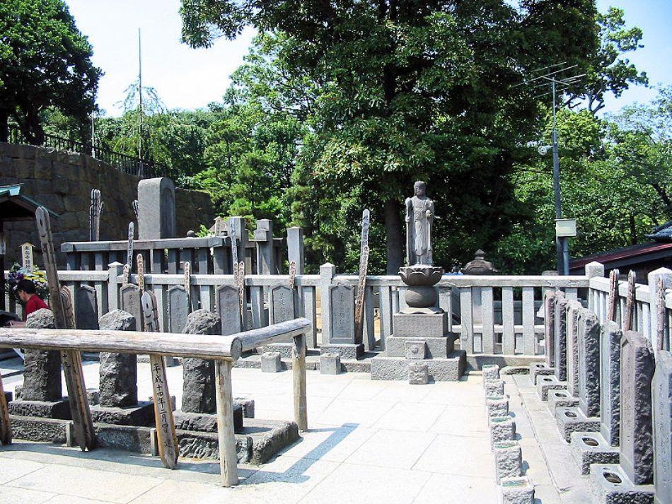 Mormintele celor 47 de ronini din Tokyo