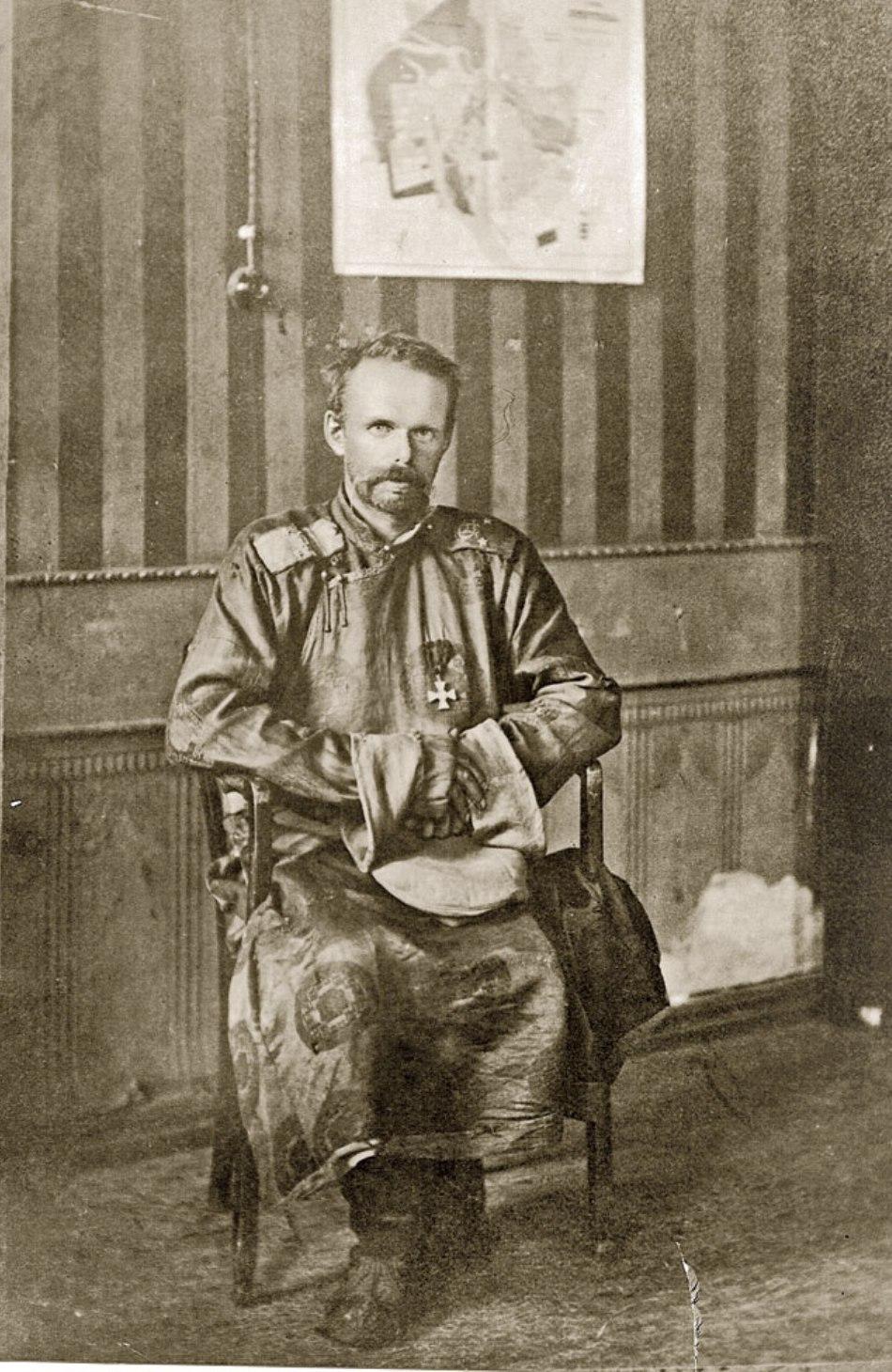 Baronul von Ungern în anul 1921