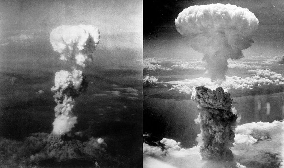 Exploxiile bombelor de la Hiroşima şi Nagasaki