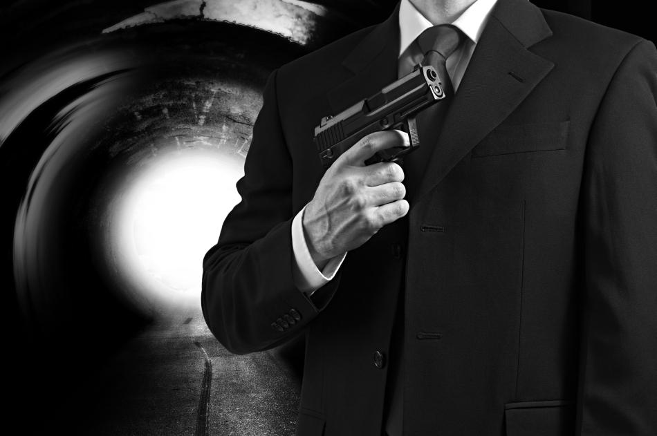 Agent secret înarmat