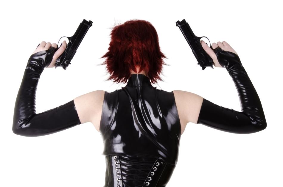 Agentă secretă înarmată
