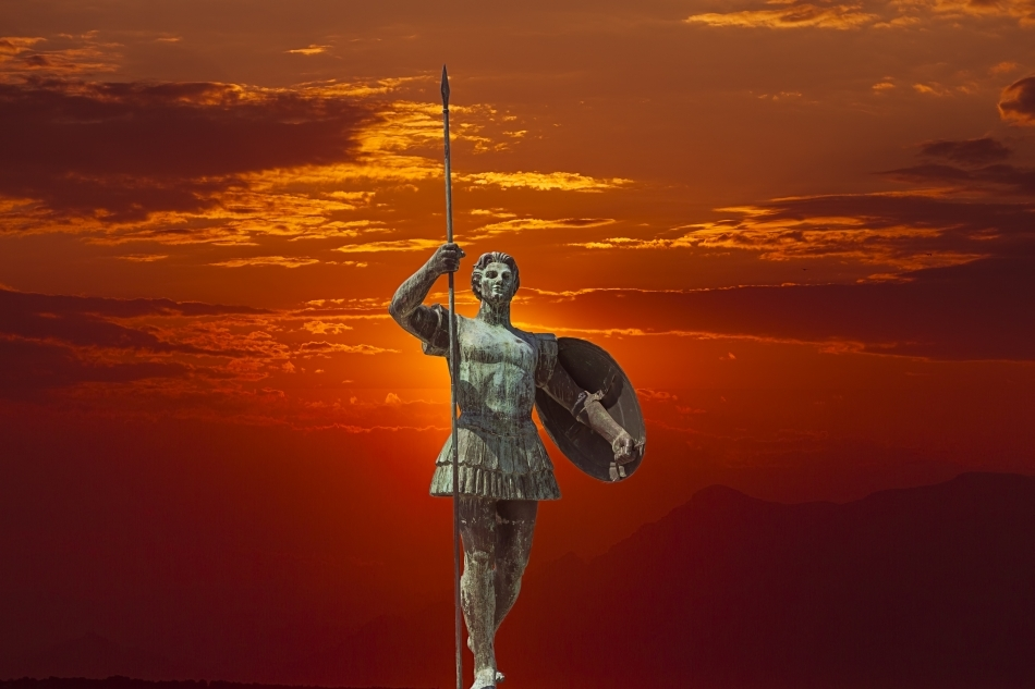 Statuie modernă a lui Alexandru cel Mare