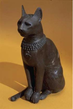 Zeiţa Bastet primea ca ofrande pisici mumificate