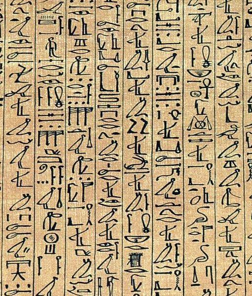 Multe hieroglife reprezintă animale