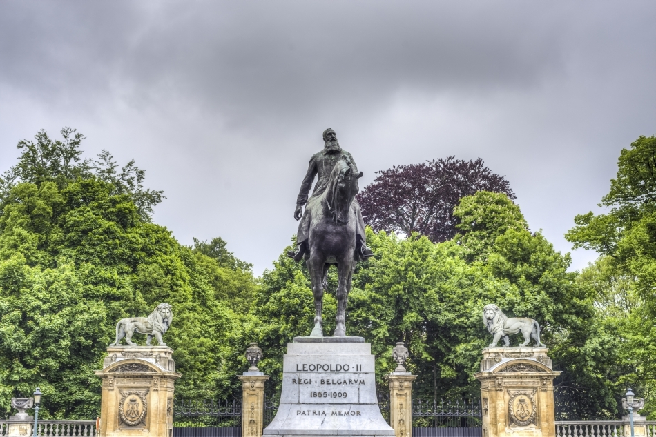 Statuie ecvestră a regelui Leopold al doilea al Belgiei