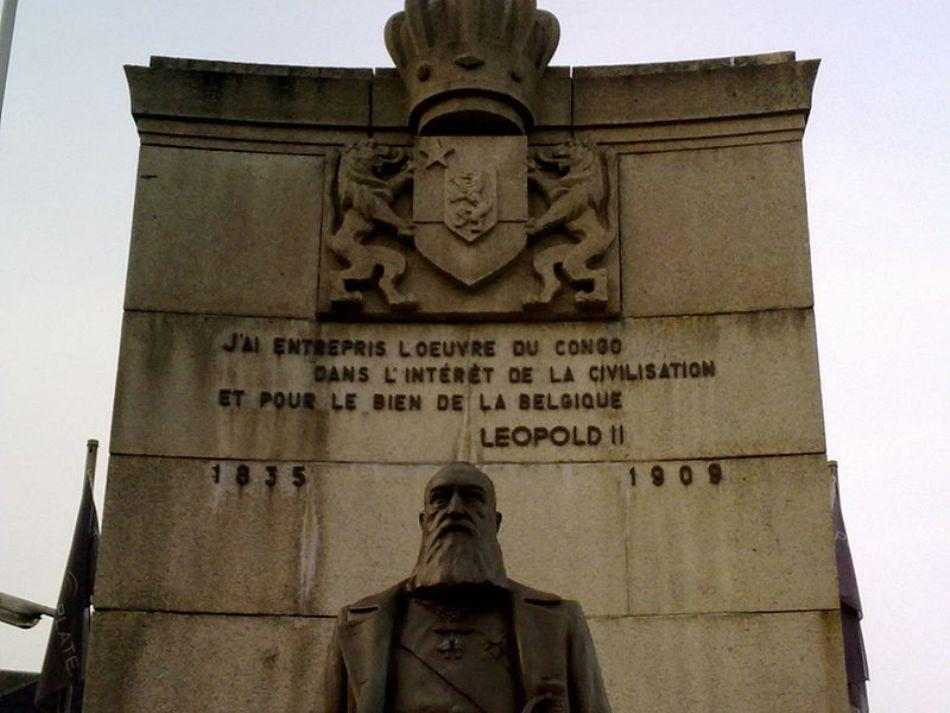 Monumentul regelui Leopold al doilea din Arlon, Belgia