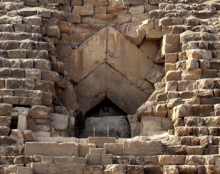Intrarea în Marea Piramidă