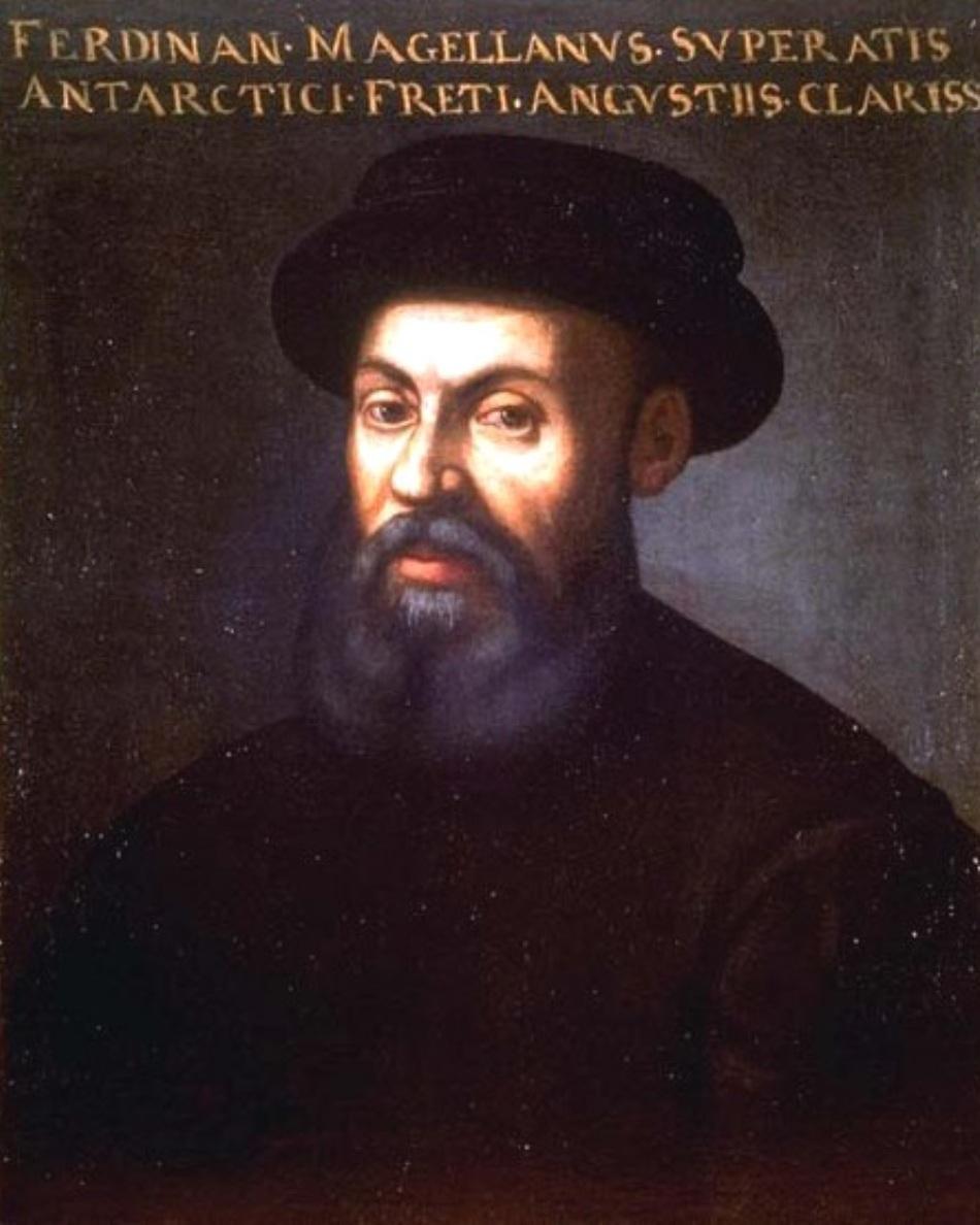 Portret de epocă al lui Fernando Magellan