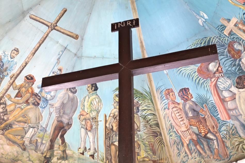 Creştinarea băştinaşilor filipinezi de către oamenii lui Magellan