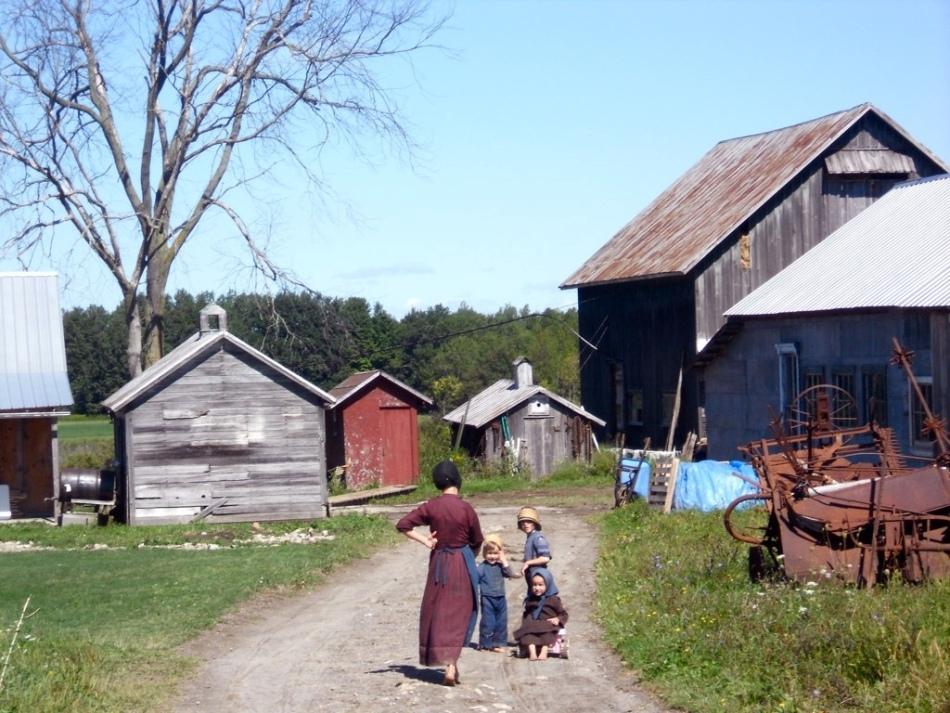 O gospodărie tipică Amish