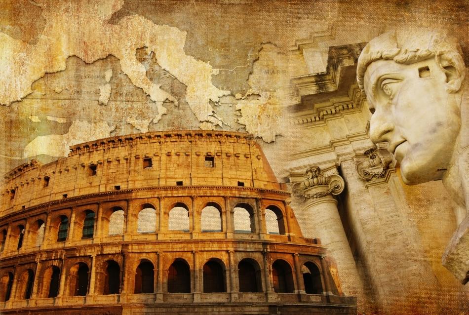 Simboluri ale civilizaţiei romane