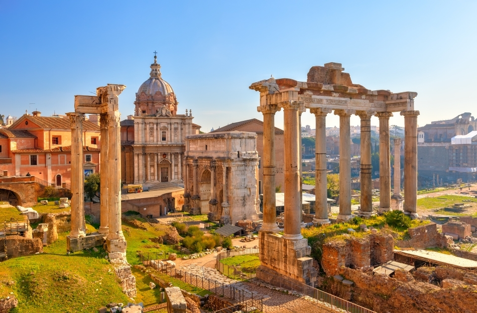 Ruinele Forumului  din Roma