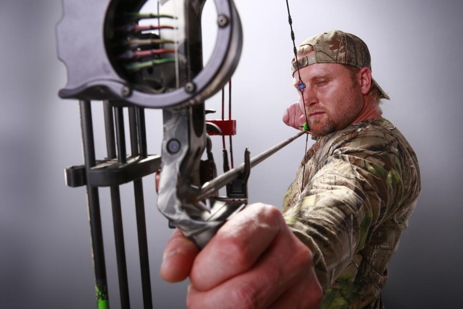 Un arc modern de vânătoare