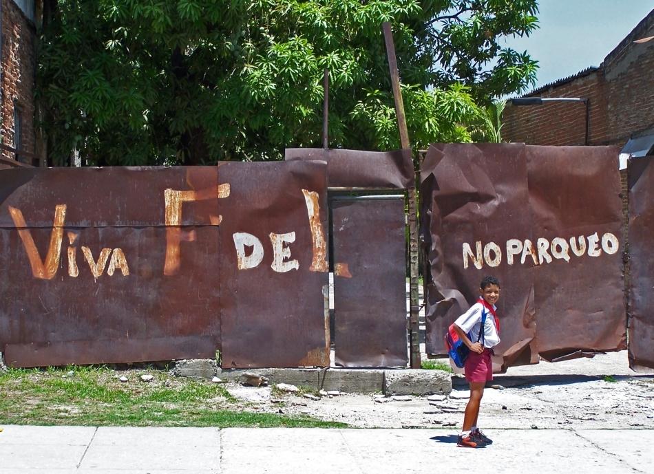 Imagine din prezent de pe locul unde erau cantonate odinioară forţele lui Castro care au luptat contra invaziei organizate de americani