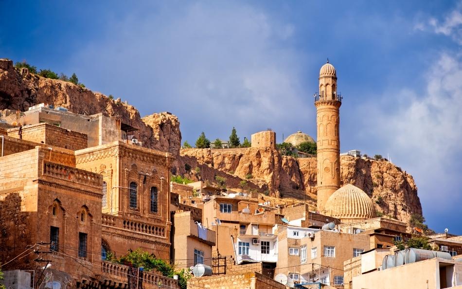 Oraşul antic Mardin de lângă Diyarbakir