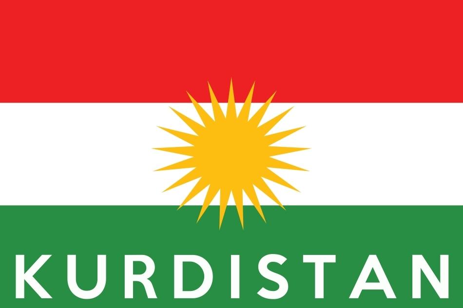 Steagul kurzilor din toată lumea